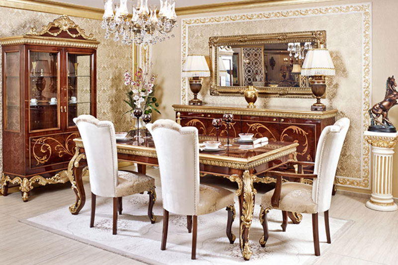 Classical Dining Table09
