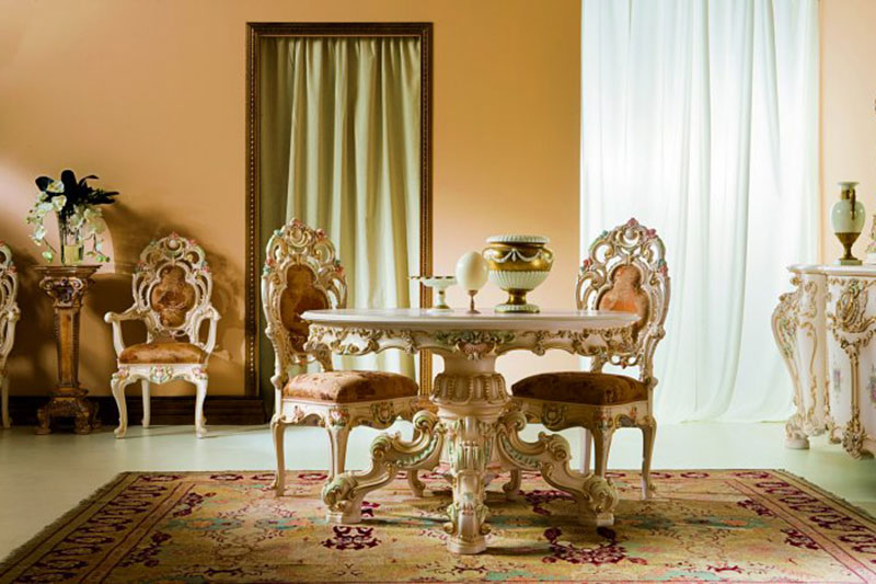 Classical Dining Table02