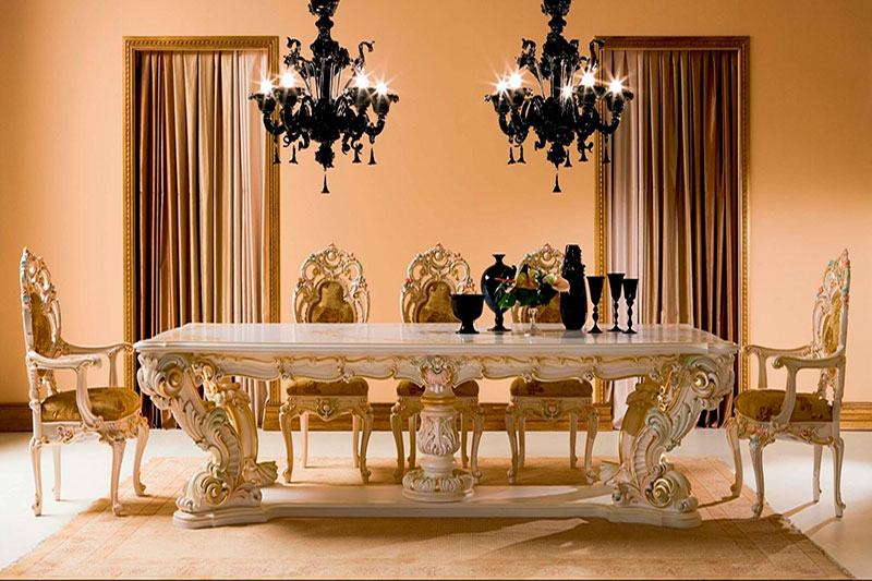 Classical Dining Table01