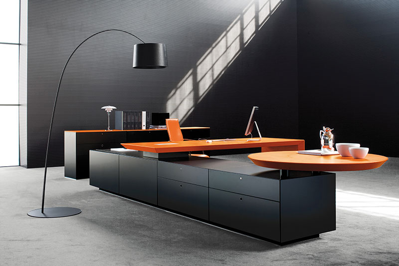 Modern Wooden Office Table011