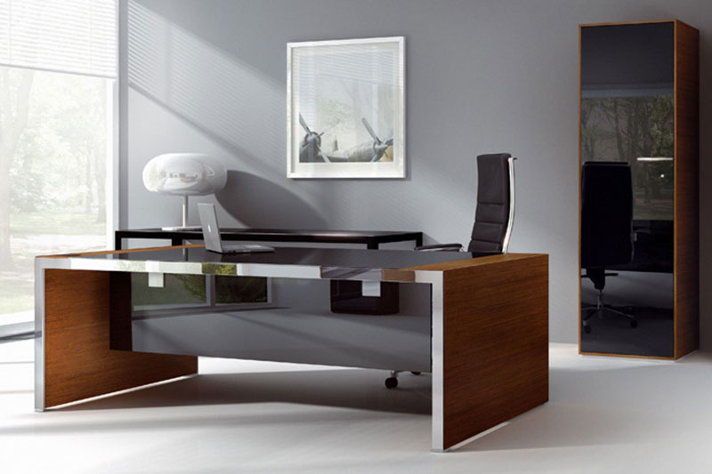 Modern Wooden Office Table07